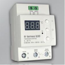 Терморегулятор terneo b30 для теплого пола до 60 кв.м (32А, 7000ВА)